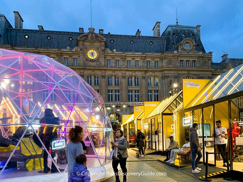Christmas Market at Gare Saint-Lazare