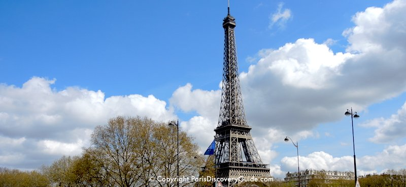 The most famous site in the 7th Arrondissement (and in Paris):  The Eiffel Tower