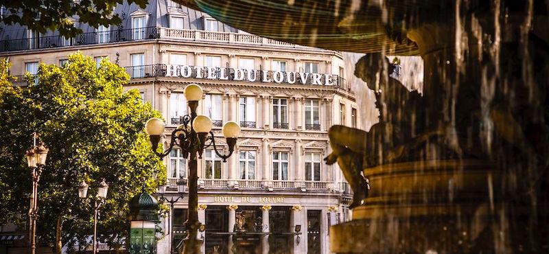 Hôtel du Louvre in Paris