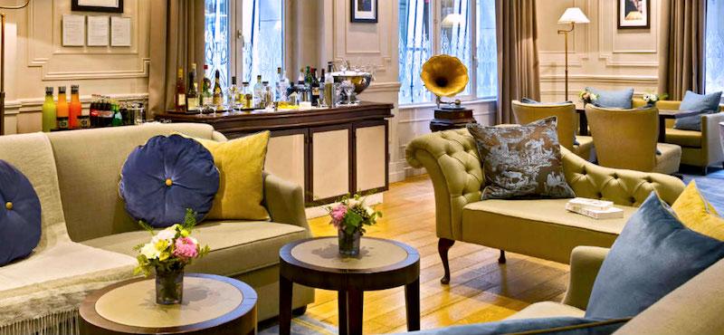 Lounge in La Clef Louvre in the 1st Arrondissement in Paris