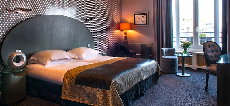 Guestroom at Atala Champs Élysées in the 8th Arrondissement in Paris
