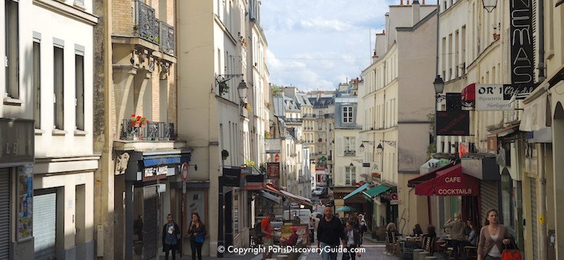 5th Arrondissement street near rue Mouffetard in the Latin Quarter