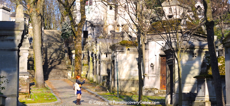 Top attraction in Paris's 20th Arrondissement:  Père-Lachaise Cemetery