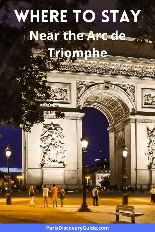 Best Paris hotels and apartments near the Arc de Triomphe