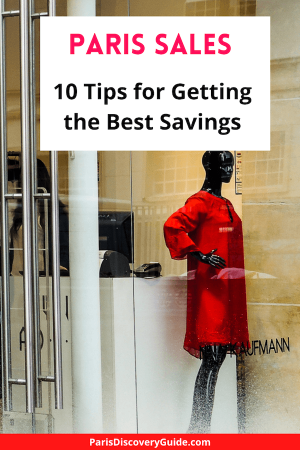 10 best tips for how to save BIG at the biannual Paris sales