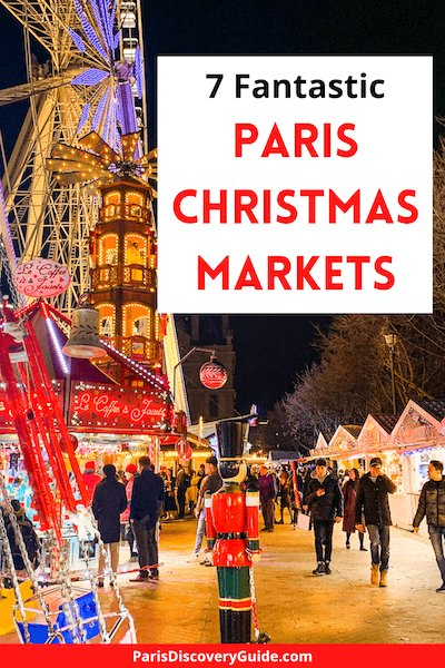 Tuileries Christmas Market in Paris
