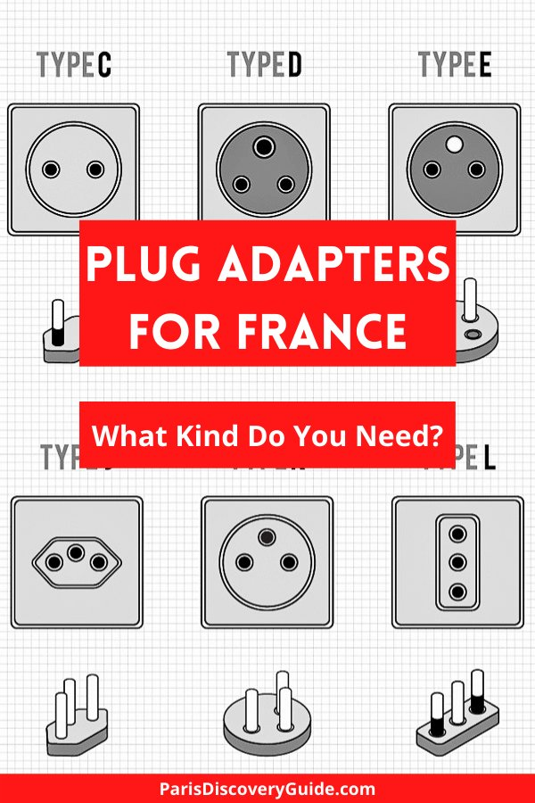 Plug adapters for France and other countries